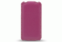 MELKCO iPhone 4 レザーJacka typeケース(Purple LC)